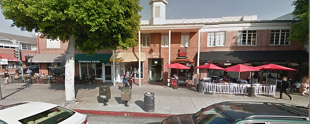 Google street view of business