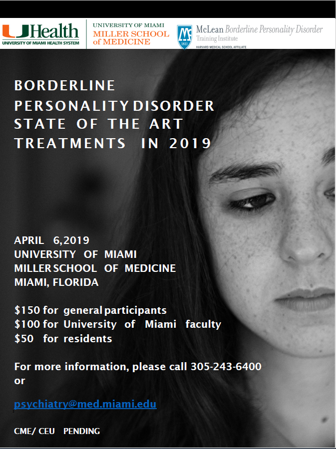 borderline personality disorder conference mentalizing