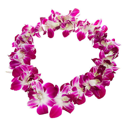 Double Dendrobium Orchid Leis