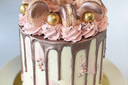 Metallic Loaded Drip Cakes