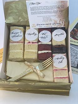 Seasonal Cake Sample Box