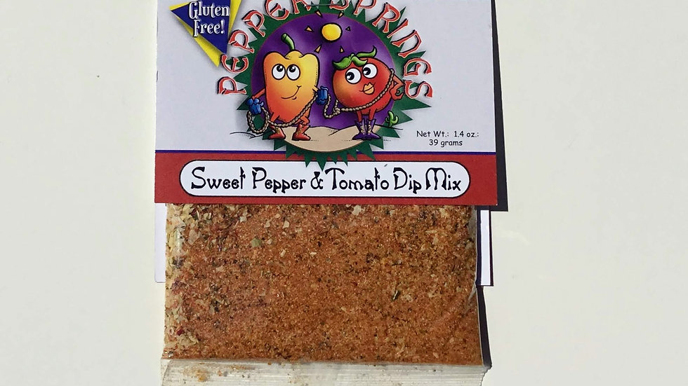 Sweet Pepper & Tomato Dip Mix