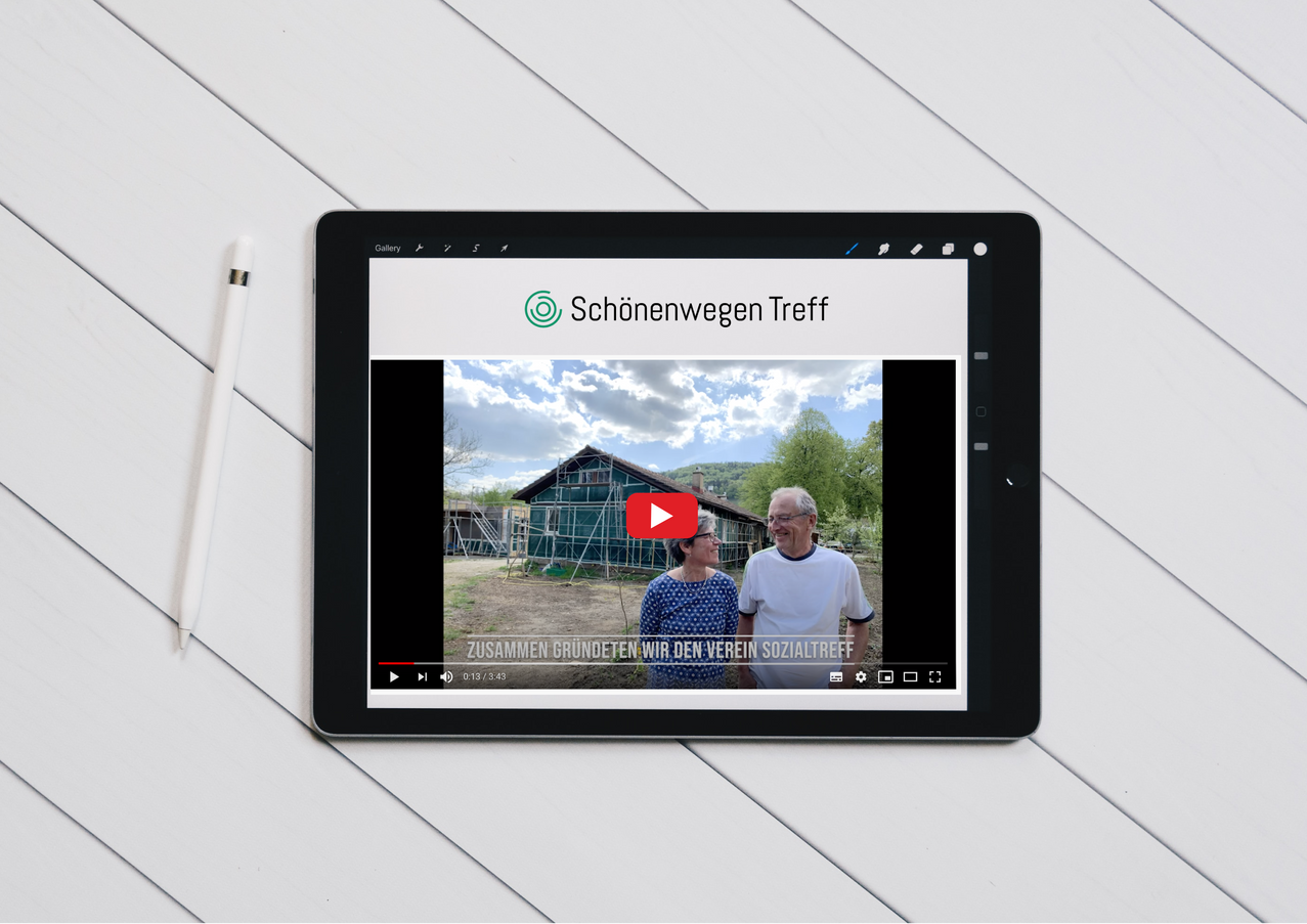 Crowdfunding project lokalhelden.ch