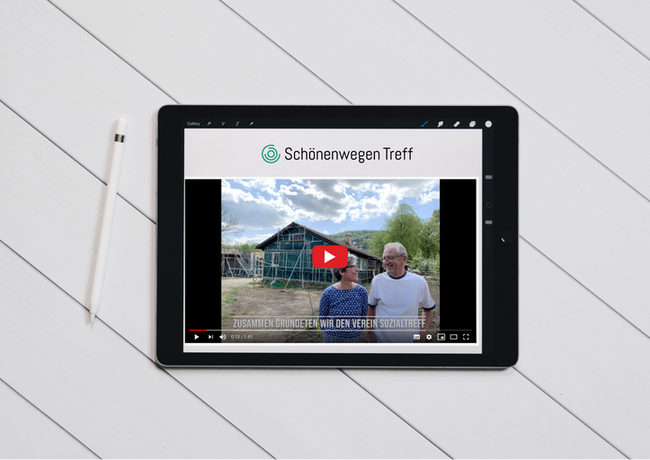 Crowdfunding project lokalhelden.ch