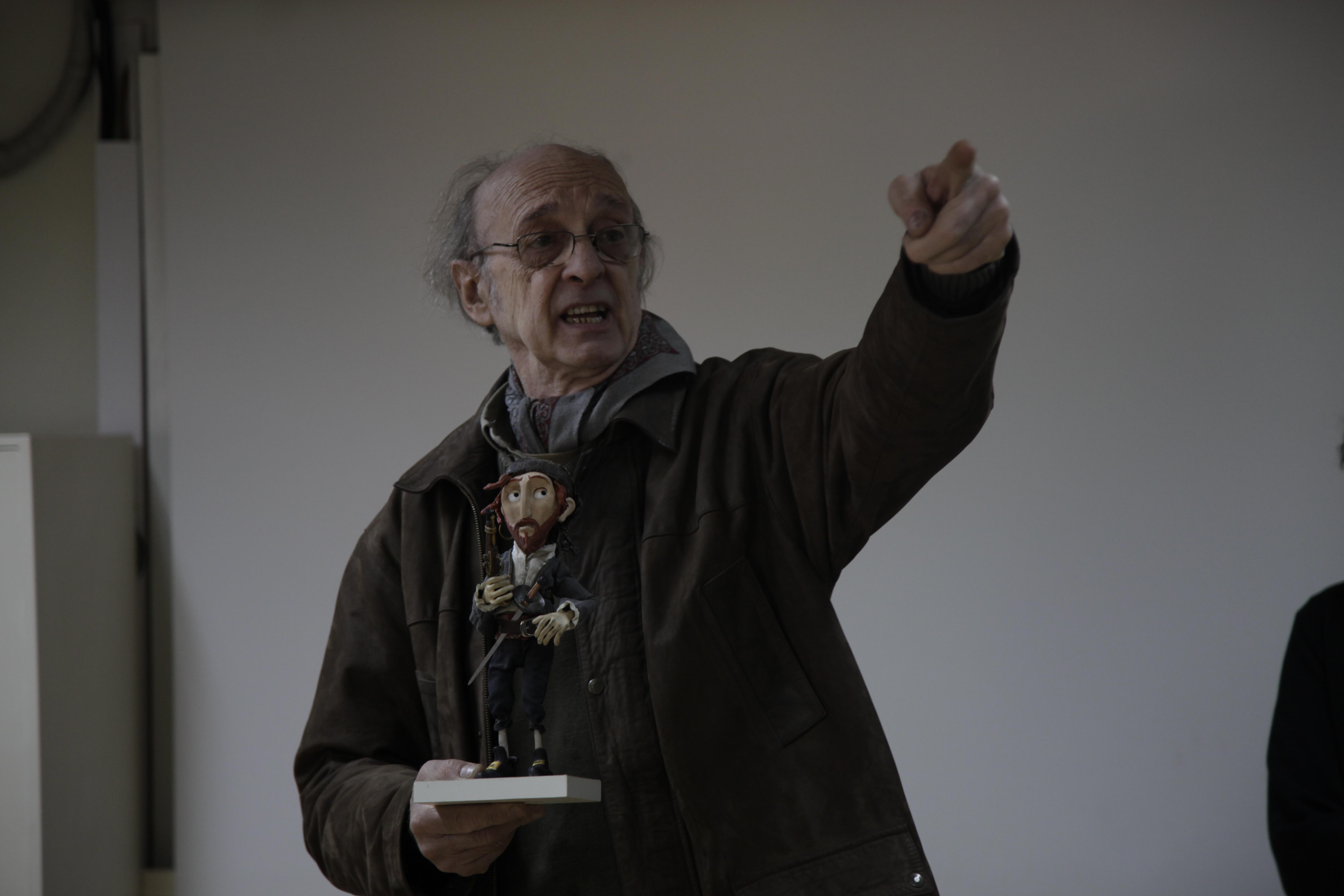 Visita de Walter Tournier