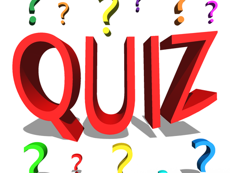 DON'T FORGET - Monday Night is Quiz Night.