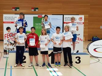 Kang-I hat den Bavarian Youth Fencing Festival Cup gewonnen