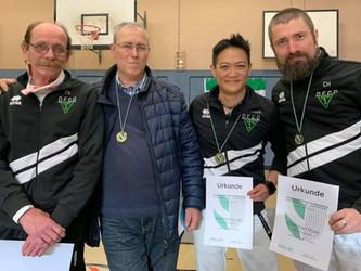 Medaillenregen für den DFCD bei den Veteranen Landesmeisterschaften in Pulheim