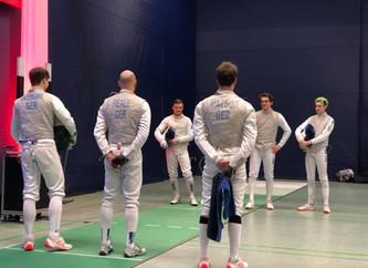 Unser Team im Mannschaftswettbewerb bei den Deutschen Florett Meisterschaften