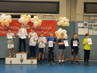 Q-Turnier in Bonn: wir waren mit einer Vielzahl von Fechtern vor Ort und haben um die heiß-begehrten