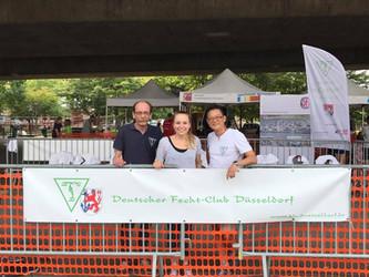 DFCD nimmt beim Olympic Adventure Camp in Düsseldorf teil