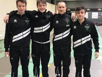 Unser Herrenflorettteam hat heute den 10. Platz bei der DM in Tauber gemacht.