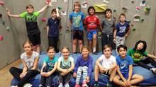 """Unsere Jüngsten sind heute mal """"fremd gegangen"""" und haben sich beim klettern ausprobiert"""