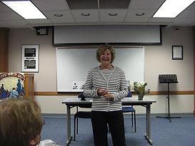 Book Presentation and Signing atUniversity Women's Club, North Bay, Ontario. Sharing a Newfoundland memory