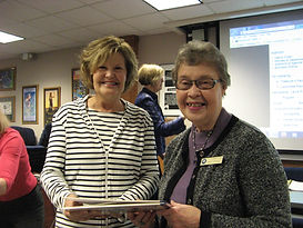 Book Presentation and Signing atUniversity Women's Club, North Bay, Ontario. Talking about books after my presentation