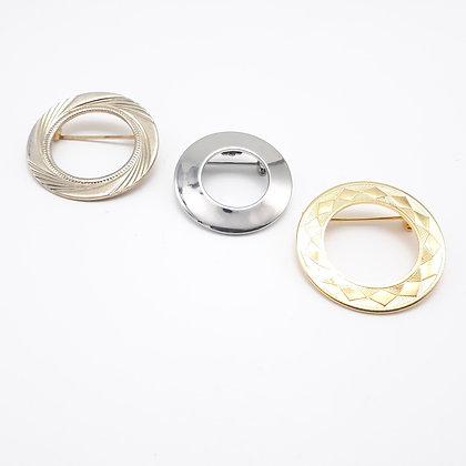 3 Halo Lapel Pins