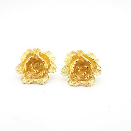 Retro Roses Earrings