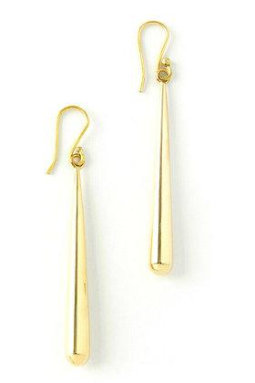 Kenyan Brass Torpedo Earrings