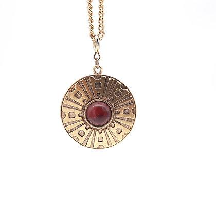 Sarah Coventry Safari Pendant Necklace