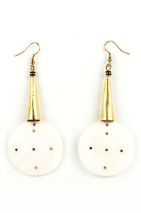 Kenyan Circular Iota Earrings
