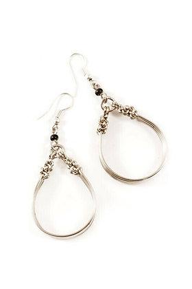 Kenyan Malkia Hoop Earrings