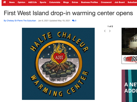 First West Island drop-in warming center opens