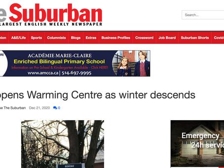 AJOI opens Warming Centre as winter descends