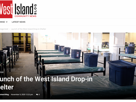 Launch of the West Island Drop-in Shelter