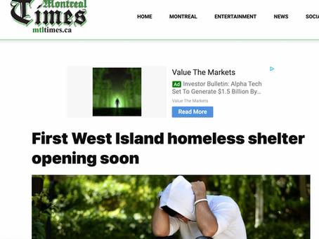 First West Island homeless shelter opening soon