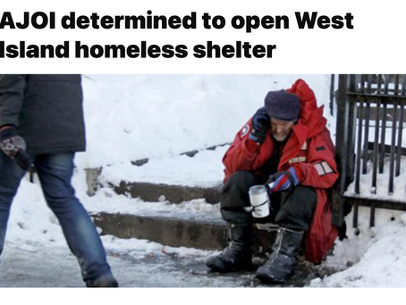AJOI determined to open West Island homeless shelter