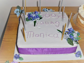Monica's 100th birthday celebration lunc