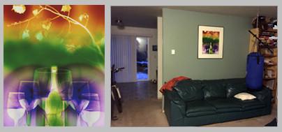 "Telluride Wine Festival,  24"" x 20"" - Living Room, Bend, OR"