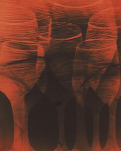 W26 Natasha Bacca photo wine art glasses red orange black