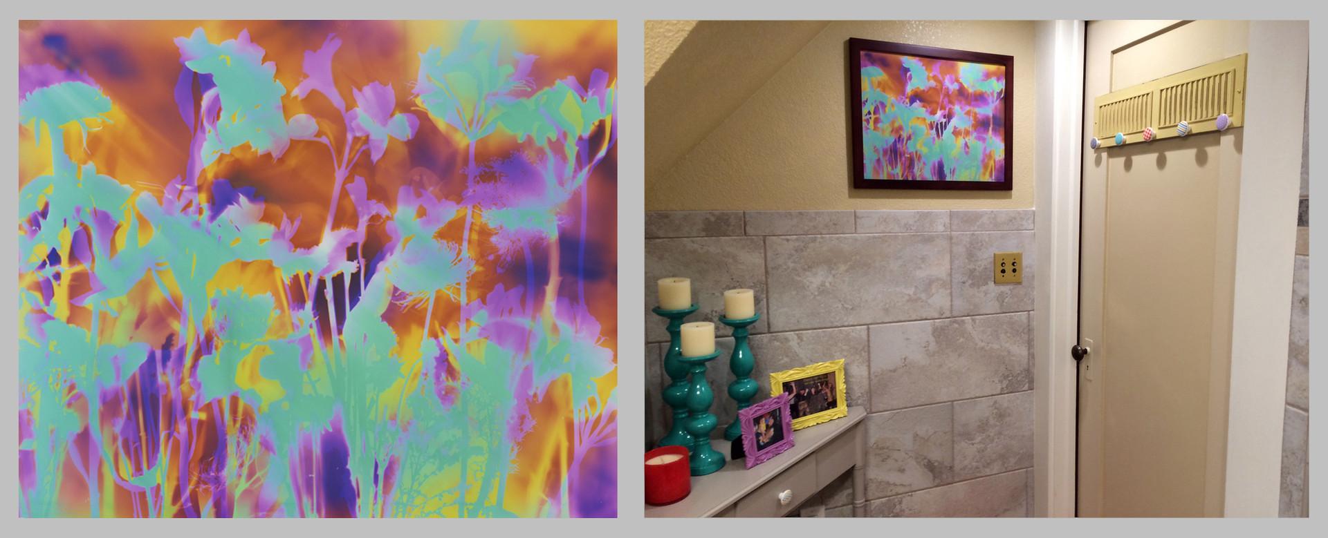 "Garden Trip, 16"" x 20"" - Bathroom, Turlock, CA"