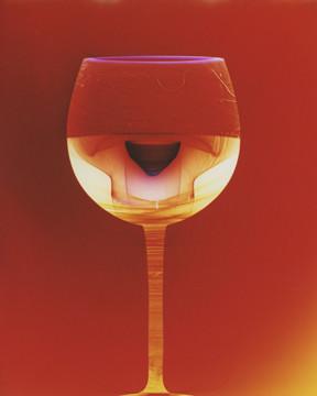 "Cheers, 20"" x 16"" - Installed at Cox Canyon Vineyards, Ellensburg, WA"
