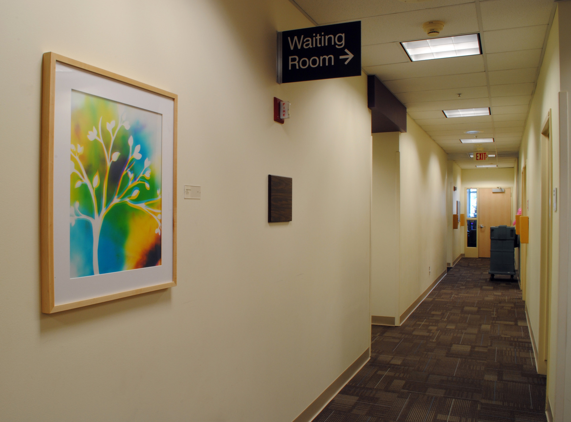 Installed at Kaiser Permanente, Point West, Sacramento, CA