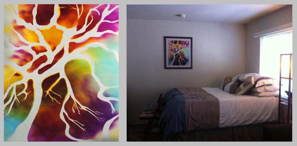 "Tree of Life, 24"" x 20"" - Bedroom, Oaklnad, CA"