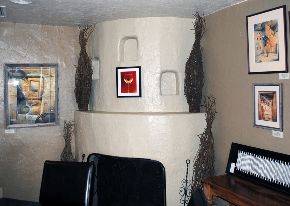 """Cheers, 10"""" x 8"""" - Installed at Fair View Lodge at Mesa Verde National Park, CO"""