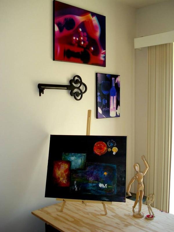 "16"" x 20"" & 14"" x 11"" - Art Studio, La Pine, OR"