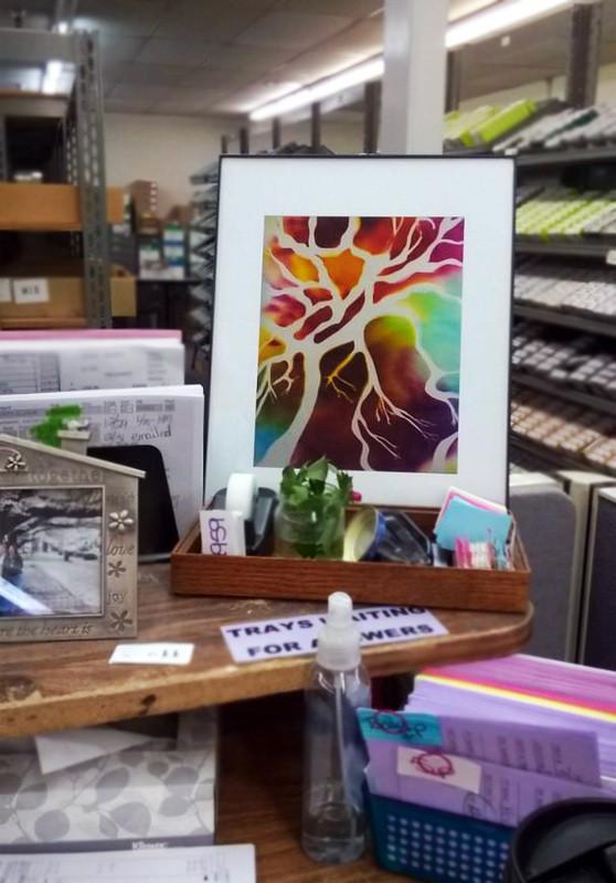 "Tree of Life, 10"" x 8"" - Office, Modesto, CA"