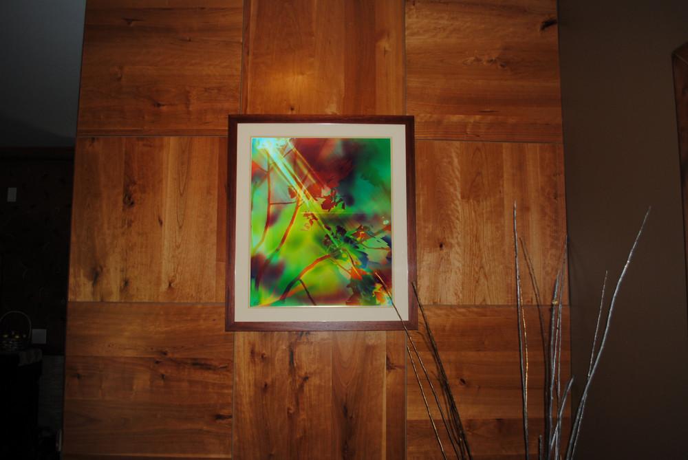 "Sunbeam, 24"" x 20"" - Installed at Torchlight Inn, Park City, UT"