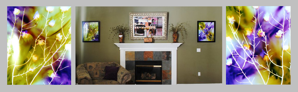 """24"""" x 20"""" each, Living Room, Bend, OR"""