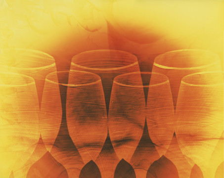 """Cheers, 16"""" x 20"""" - Collection of Silvan Ridge Winery, Eugene, OR"""