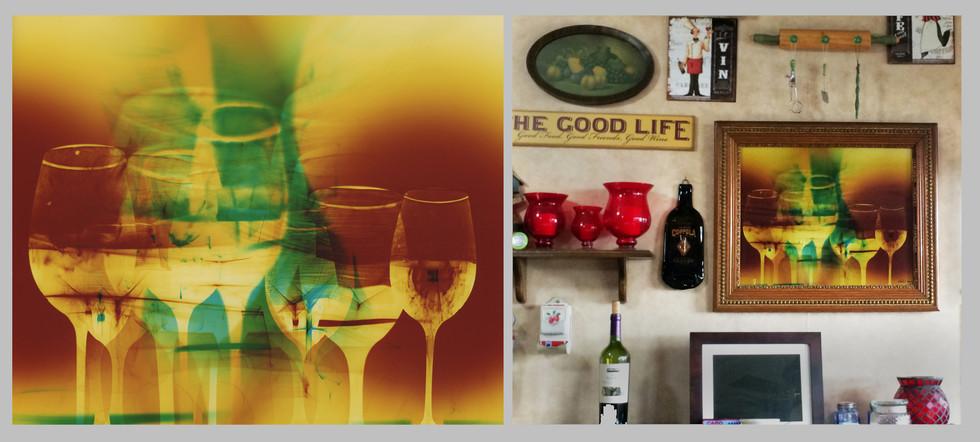 "Cheers, 16"" x 20"" - Kitchen, Turlock, CA"