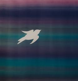 B4 Bird 3 Birds photo art Natasha Bacca purple pink blue