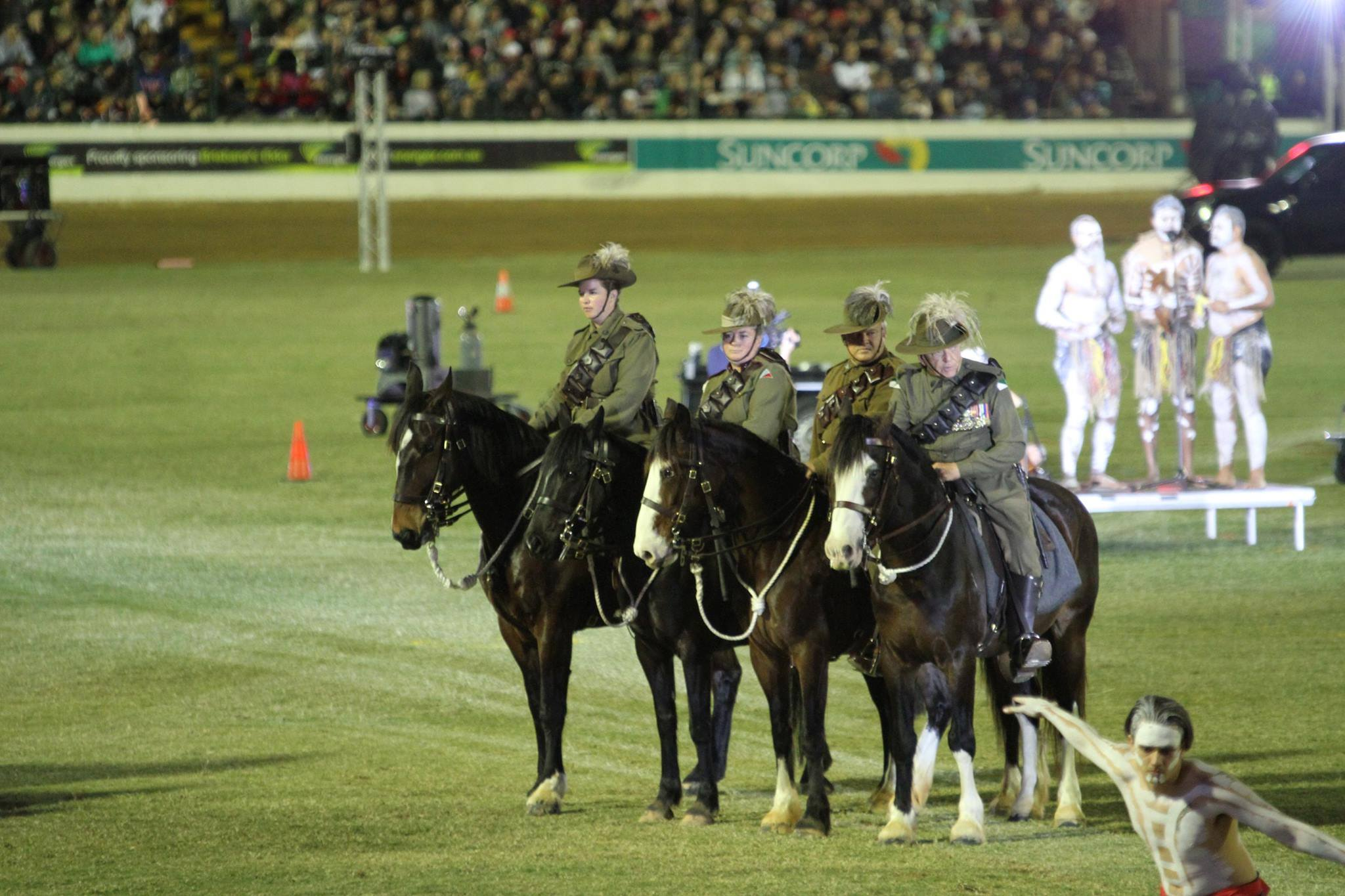 Walers in Lighthorse EKKA Nites 2015