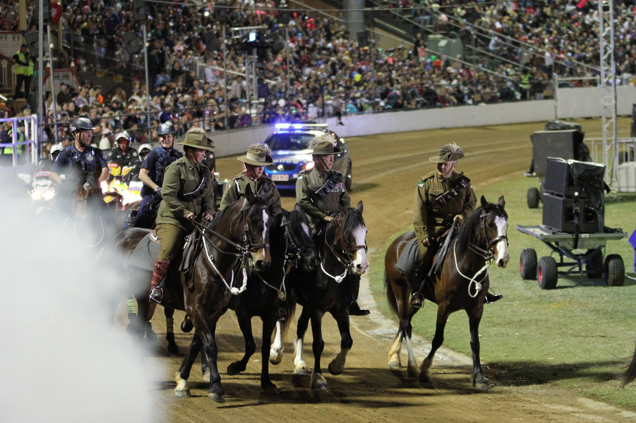 Walers in Light Horse EKKA Nites 2015