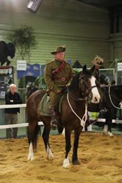 Jezzie Waler in Light Horse EKKA 2015