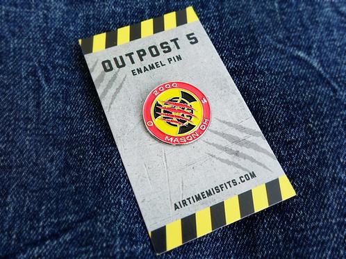 Outpost 5 - Enamel Pin