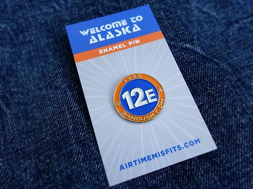 Welcome to Alaska - Enamel Pin